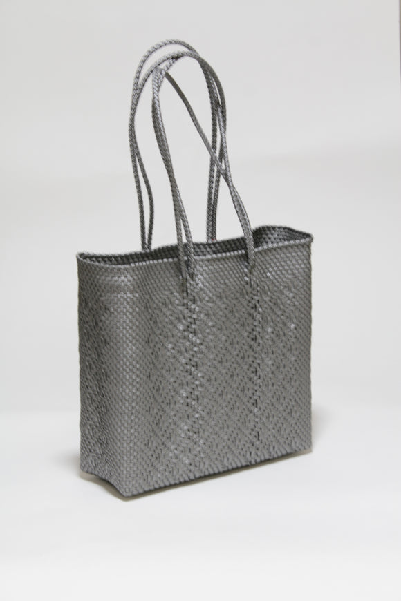 Silver Long Handle Bag Mサイズ