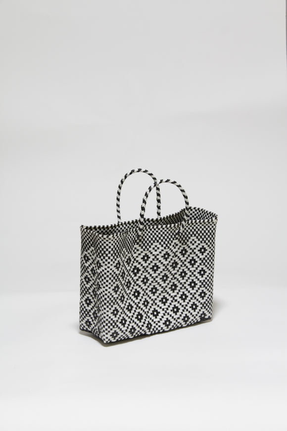 Black and White Diamond Bag XSサイズ