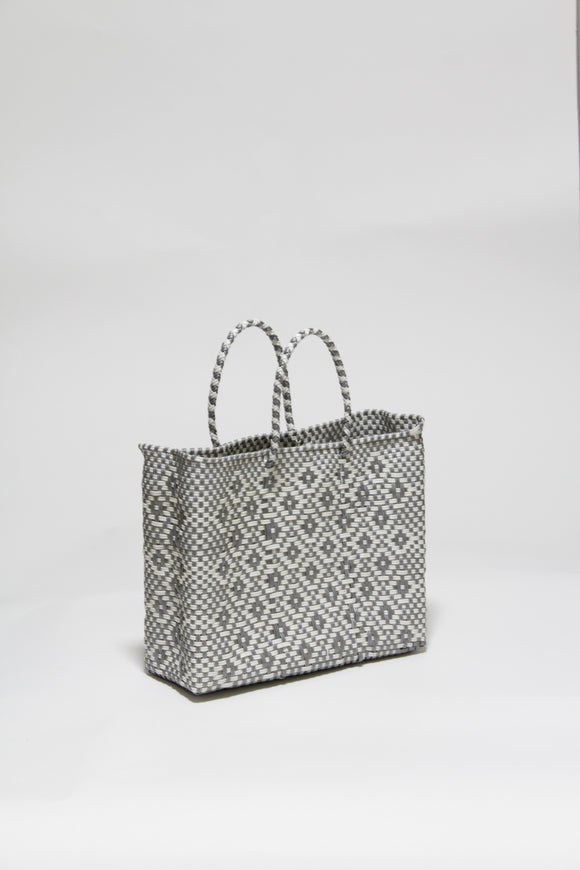Silver and White Diamond Bag XSサイズ