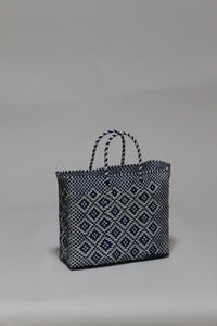Blue and White Diamond Bag XSサイズ