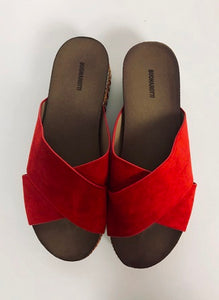 Suede Stud Sandals (various colours) - chichappensboutique