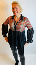 Load image into Gallery viewer, Rainbow Blouse by Stella - chichappensboutique