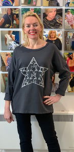 All Star Sweatshirt (various colours) - chichappensboutique