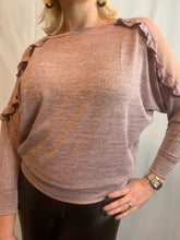 Load image into Gallery viewer, Stella Lace Cold Shoulder Top - chichappensboutique