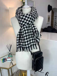 Soft Check Scarf (various colours)