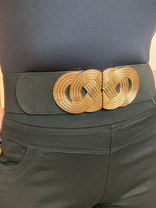 Stretch Belt with Figure of 8 Fastening - chichappensboutique