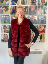 Load image into Gallery viewer, Faux Fur Gilet (various colours)