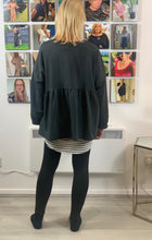 Load image into Gallery viewer, Fluted Layering Sweatshirt (various colours) - chichappensboutique