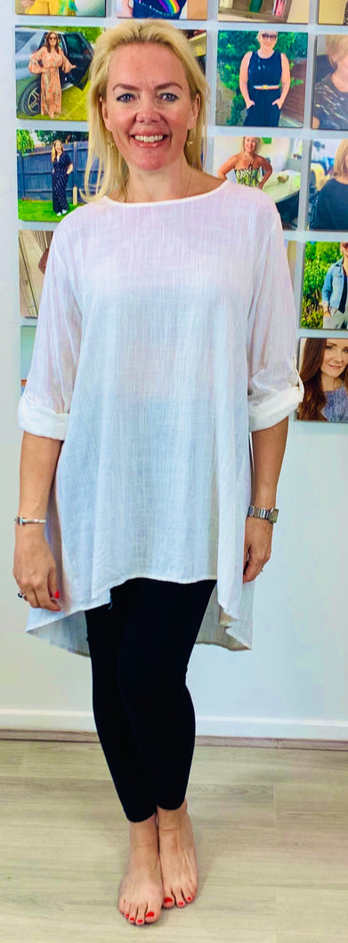 Button Back Tunic