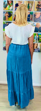 Load image into Gallery viewer, Denim Maxi Skirt - chichappensboutique
