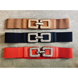 Stretch Buckle Belt - chichappensboutique