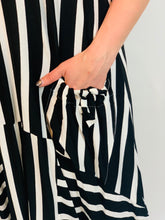 Load image into Gallery viewer, Jersey Stripe Pocket Maxi Dress (various colours) - chichappensboutique