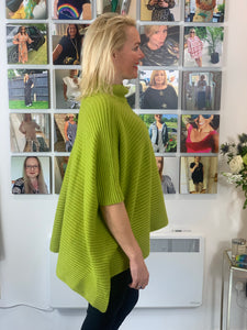 Ribbed Poncho Knit - chichappensboutique