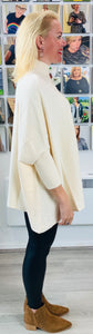 Elegant Cape Knit - chichappensboutique
