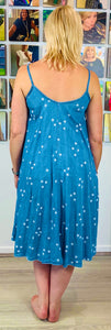 Soft Denim Star Dress - chichappensboutique