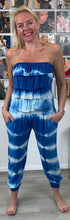 Load image into Gallery viewer, Tie Dye Frill Sleeveless Jumpsuit - chichappensboutique