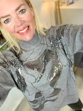 Load image into Gallery viewer, Abstract Sparkle Jumper - chichappensboutique