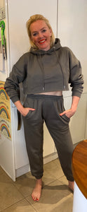 Cropped Hoodie Lounge Set - chichappensboutique