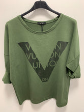 Load image into Gallery viewer, Vutton Inspired Sweatshirt - chichappensboutique
