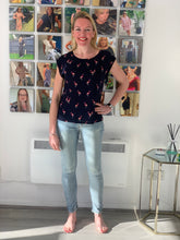 Load image into Gallery viewer, Stella Flamingo Top - chichappensboutique
