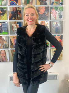 Faux Fur Gilet (various colours)