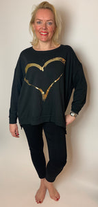 Heart of Gold Top - chichappensboutique