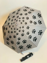 Load image into Gallery viewer, Paw Print Umbrella - chichappensboutique