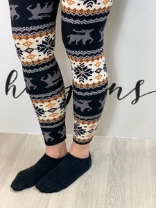 Nordic Leggings (various colours) - chichappensboutique