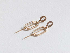 Camille Geometrical Abstract Shape Earrings - chichappensboutique