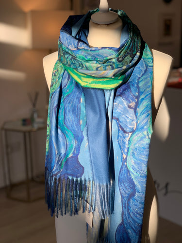 Van Gogh Inspired Scarf - chichappensboutique