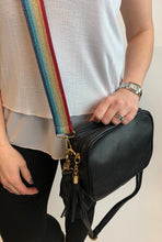 Load image into Gallery viewer, Camera Crossbody Bag Double Zip Pocket - chichappensboutique