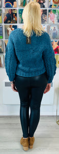 Short Hand Knitted Cardigan - chichappensboutique