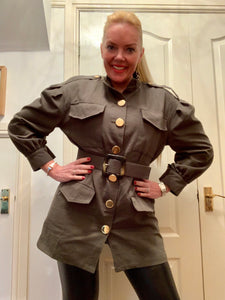 Safari jacket - chichappensboutique