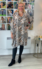 Load image into Gallery viewer, Cowl Neck Animal Tunic - chichappensboutique