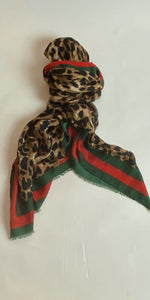 Gucci Inspired Scarf - chichappensboutique