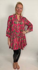 Religion Inspired Skull Tunic (various colours) - chichappensboutique