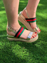 Load image into Gallery viewer, Gucci Inspired Sandals - chichappensboutique