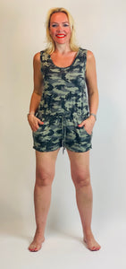 Camo playsuit
