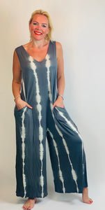 Tie Dye Jersey Jumpsuit - chichappensboutique