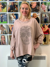 Load image into Gallery viewer, Coco Skull Sweatshirt - chichappensboutique