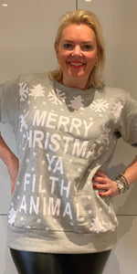 Cheeky Christmas Jumper - chichappensboutique