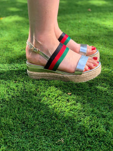 Gucci Inspired Sandals - chichappensboutique