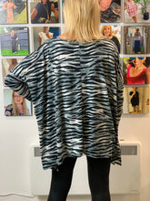 Load image into Gallery viewer, Stella Super Soft Grey Tiger Top - chichappensboutique