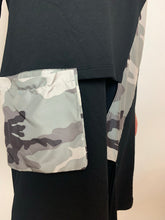 Load image into Gallery viewer, Camo Detail Dress/Top - chichappensboutique