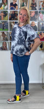 Load image into Gallery viewer, Tie Dye Frill T-shirt - chichappensboutique