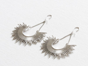 Soleil Half Burst Earrings - chichappensboutique