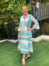 Load image into Gallery viewer, Summer Stripe Maxi Dress - chichappensboutique