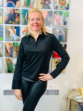 Load image into Gallery viewer, Soft Microfibre Layering Top with Collar and Cuffs (various colours) - chichappensboutique