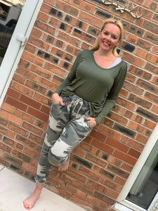 Camo Lounge Pants - chichappensboutique