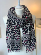 Load image into Gallery viewer, Vibrant Animal Scarf by Gerard Pasquier (Various colours) - chichappensboutique